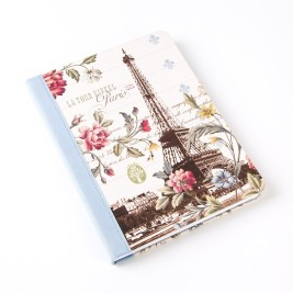 La Tour Eiffel Ribbon Journal